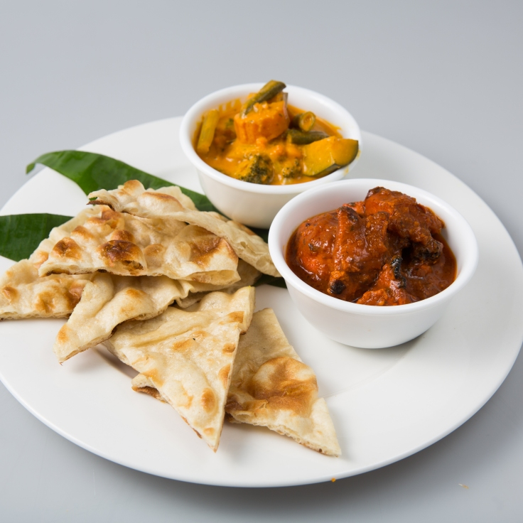 Naan & Curry Meal 11.90