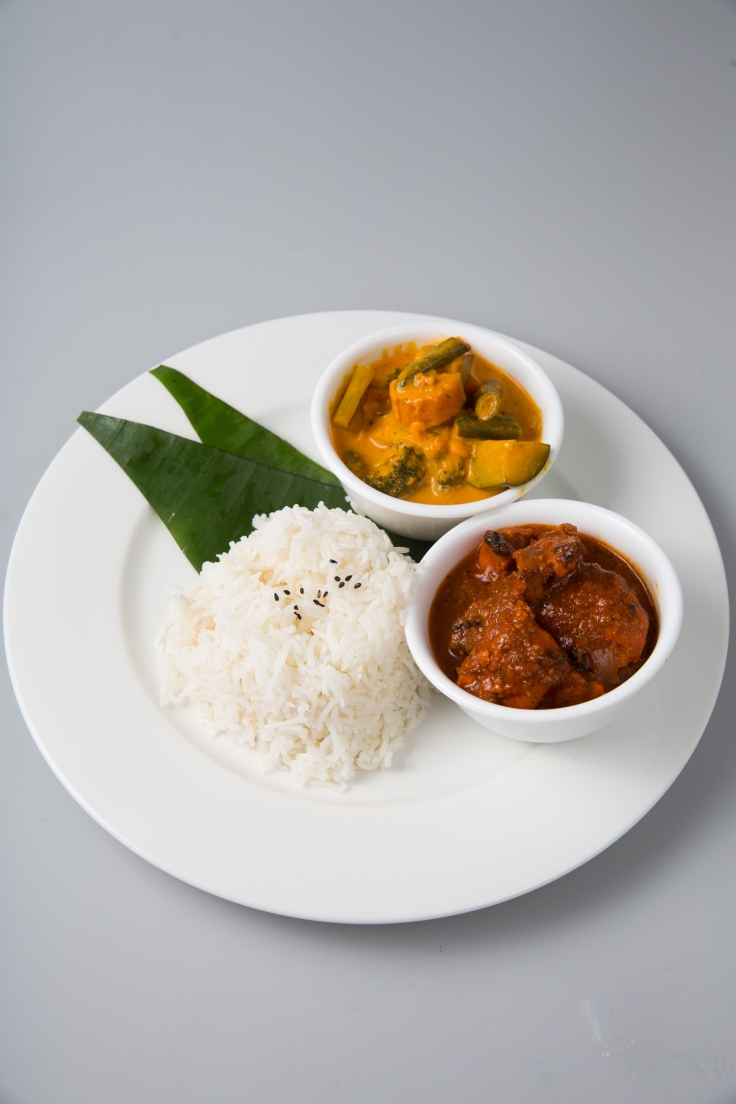 Rice & Curry Meal from 9.90