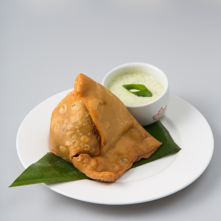 Vegetable Samosa 3.50