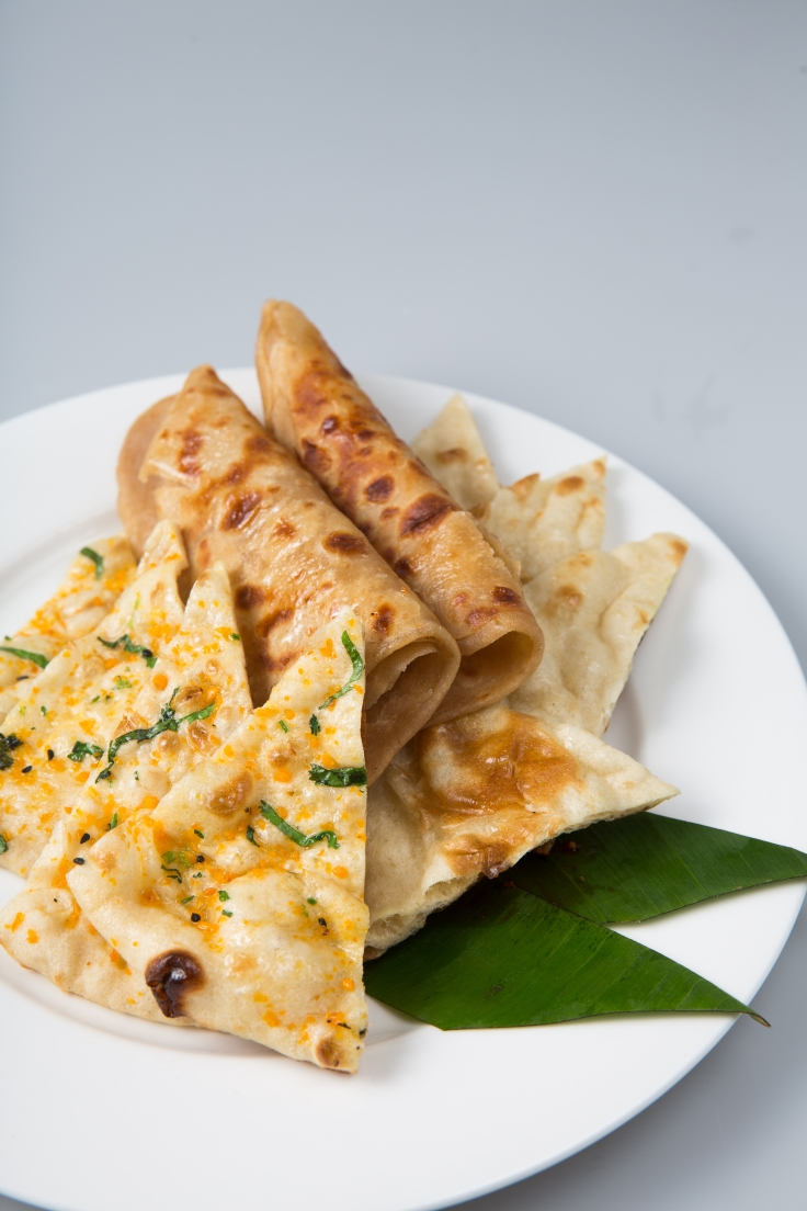 Fresh Indian Breads- from 3.00